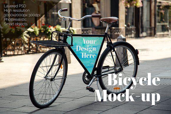 Download Bicycle Mock Up Mockup Free Psd Photorealistic Mockups Mockup