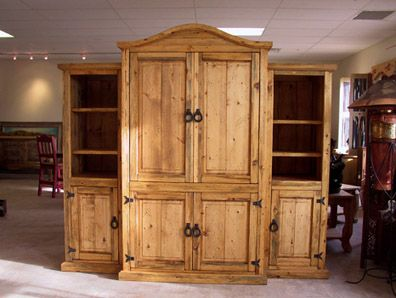Rustic Entertainment Centers To Go Back The Western Armoire And Center Page