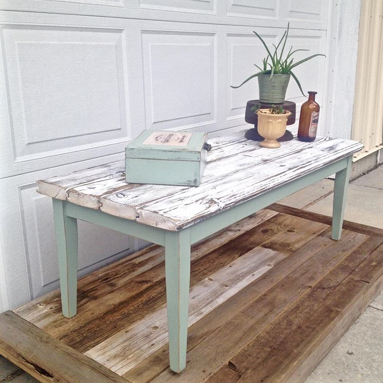 great new farmhouse coffee table build featuring whitewashed tongue rh pinterest com
