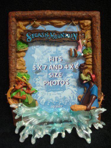 Disney\'s Splash Mountain 5x7 and 4x6 Frame Disney | Disney Photo ...