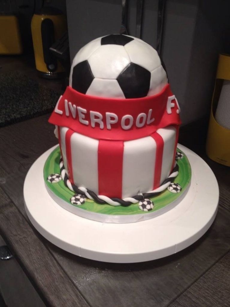 Baby Shower Cakes Liverpool ~ Liverpool f c cake cakes pinterest boss
