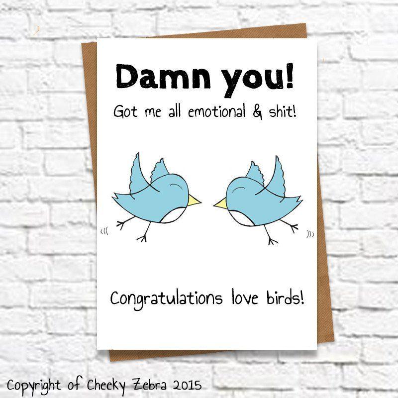 Funny simple honest engagement wedding