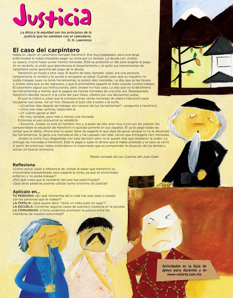 Justicia Cuentos De Valores Libros Para Niños Y Lectura