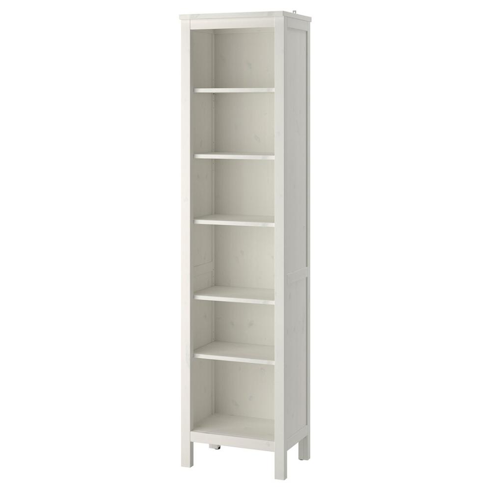 "HEMNES Bookcase, white stain, 19 1/4x77 1/2""   IKEA ..."