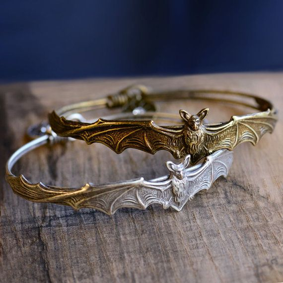 Fledermaus-Armband, Halloween-Armband, Fledermaus Schmuck, Halloween-Schmuck, Gothic Armband, Vampir Schmuck, Vampir, Fledermaus, Halloween-Kostüm EL_BR119