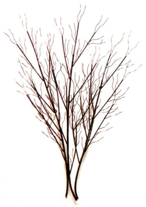 Tree Branch Wall Decor Metal : Large tree branch wall art winter grove metal