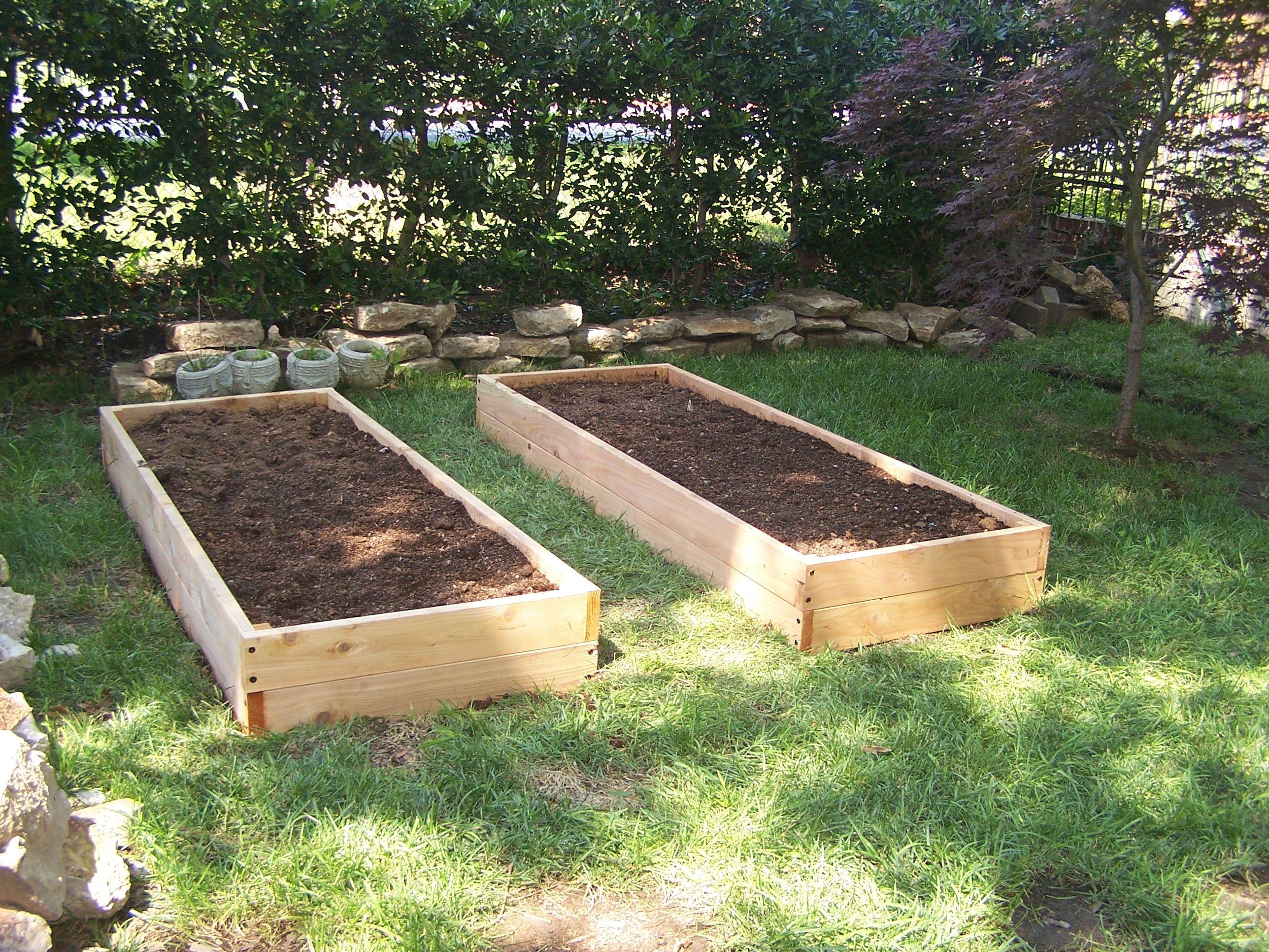 Garden Services – Planning Garden Beds