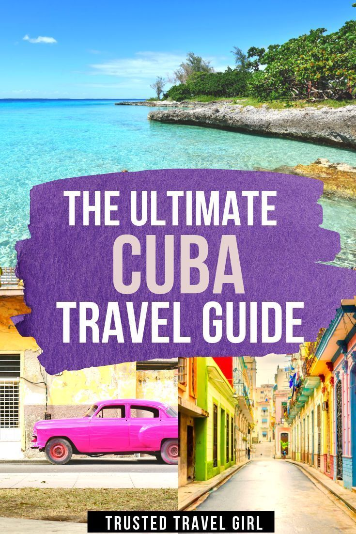 The Ultimate Cuba Travel Guide from the Trusted Travel Girl. Everything you need to know before going to Cuba. How to get to Cuba where to stay where to eat and drink in Cuba | What to do in Cuba | Cuba Travel Guide | Cuba Vacation | Cuba Itinerary | Cuba Holiday. #cuba #cubatravel #style #shopping #styles #outfit #pretty #girl #girls #beauty #beautiful #me #cute #stylish #photooftheday #swag #dress #shoes #diy #design #fashion #Travel