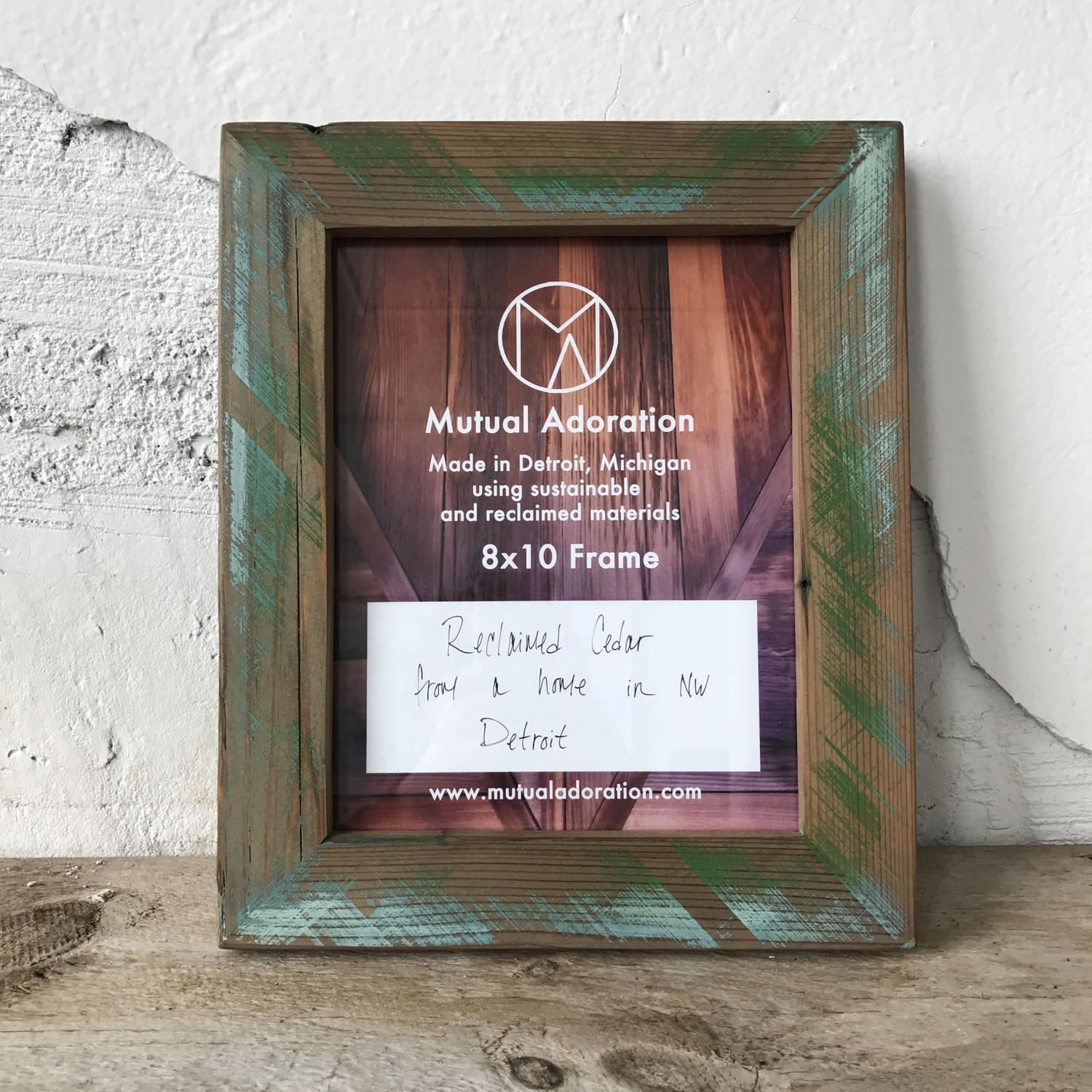 8x10 Picture Frame | Reclaimed Wood Frame | 8x10 Photo Frame ...