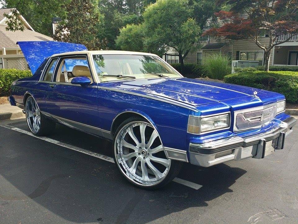 2 Door Box Chevy on 26S - Badass Box Chevy On Big Rims Custom Wheels - 2 Door Box Chevy on 26S