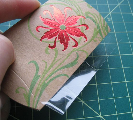 How to Make a Gift Pouch from a Greeting Card