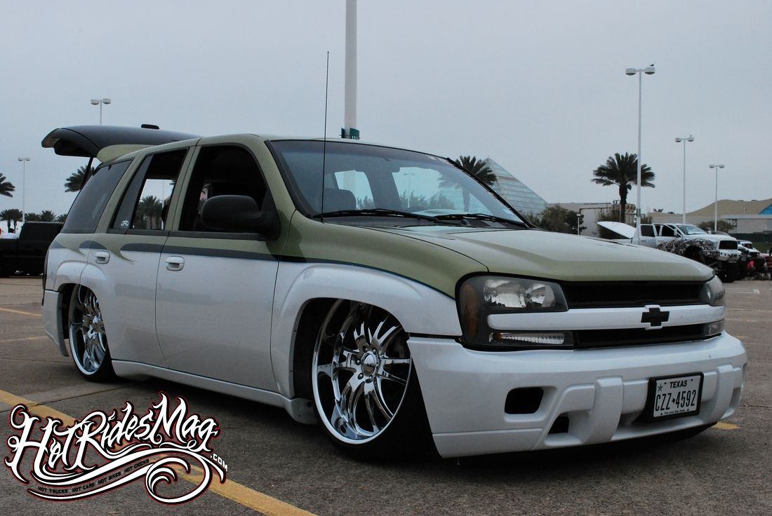 Bagged Chevy Trailblazer | Automobiles | Pinterest | Chevy ...