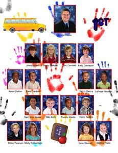 preschool yearbook templates google search yearbook. Black Bedroom Furniture Sets. Home Design Ideas