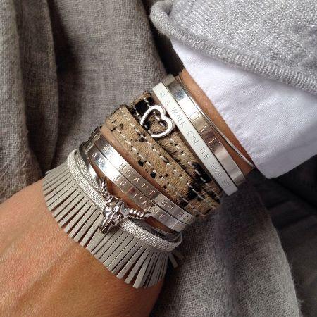 Earthy Bracelets Neutral Stack Http Www Justtrendys