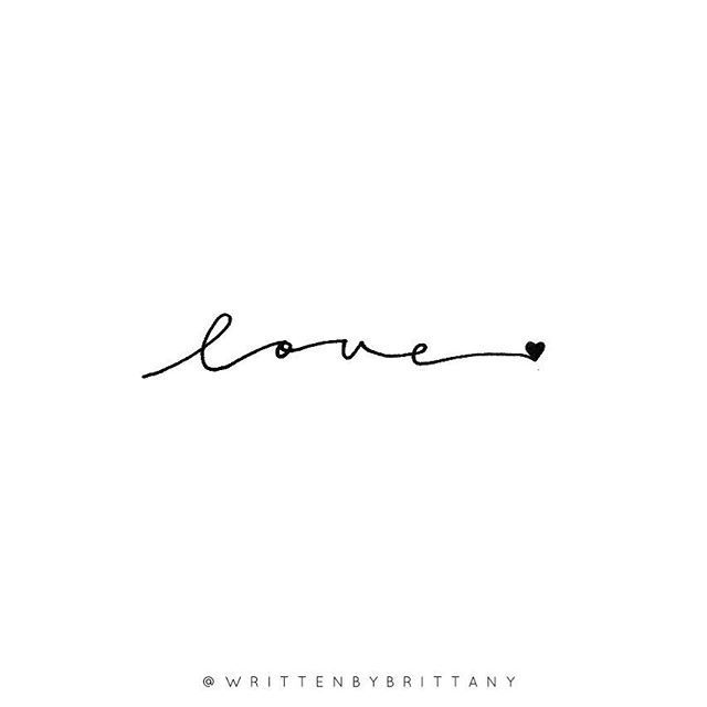 Friday, I love you! #writtenbybrittanylettering –