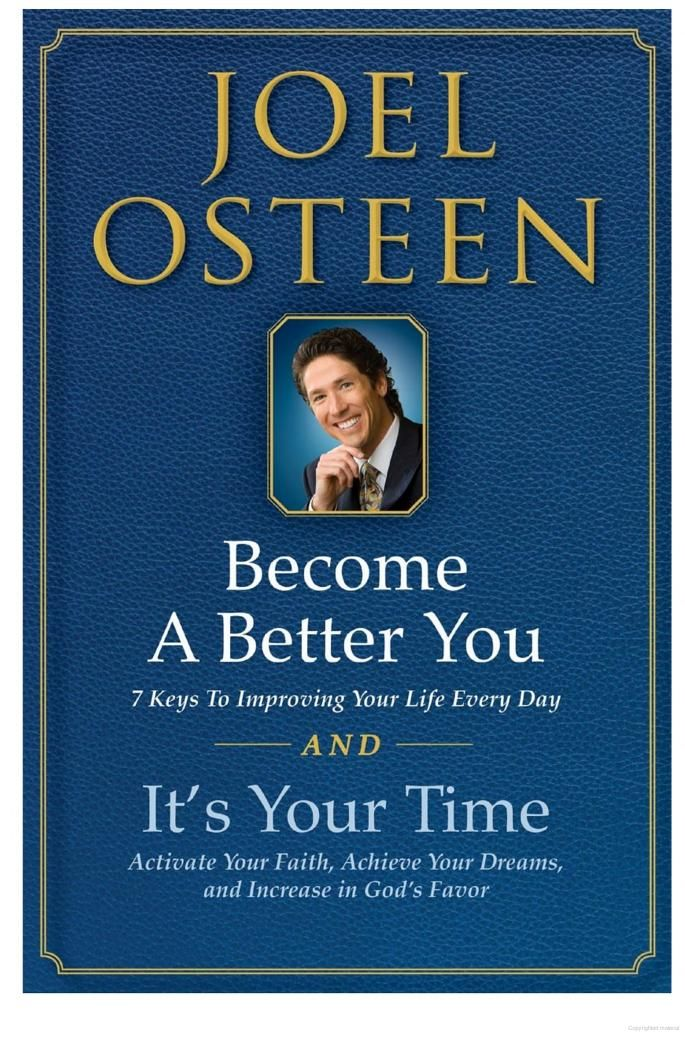 It's Your Time and Become a Better You Boxed Set - Joel Osteen - Google Books