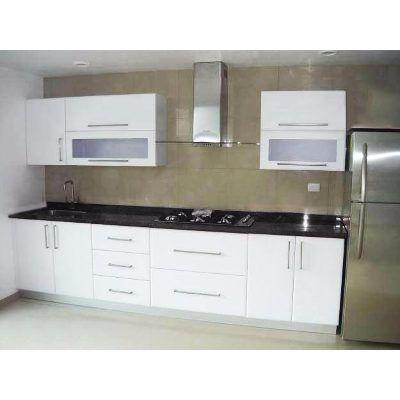 Cocina integral minimalista gabinete alacena for Diseno de gabinetes de cocina modernos