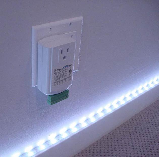 Baseboard Rope Lighting Halogen Lamp Flooring Lighting