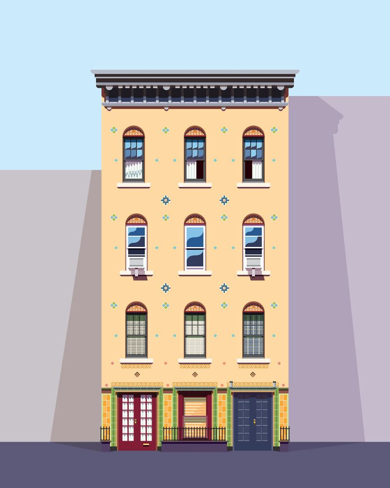The work of nathan manire illustrations art pinterest for 2d building drawing