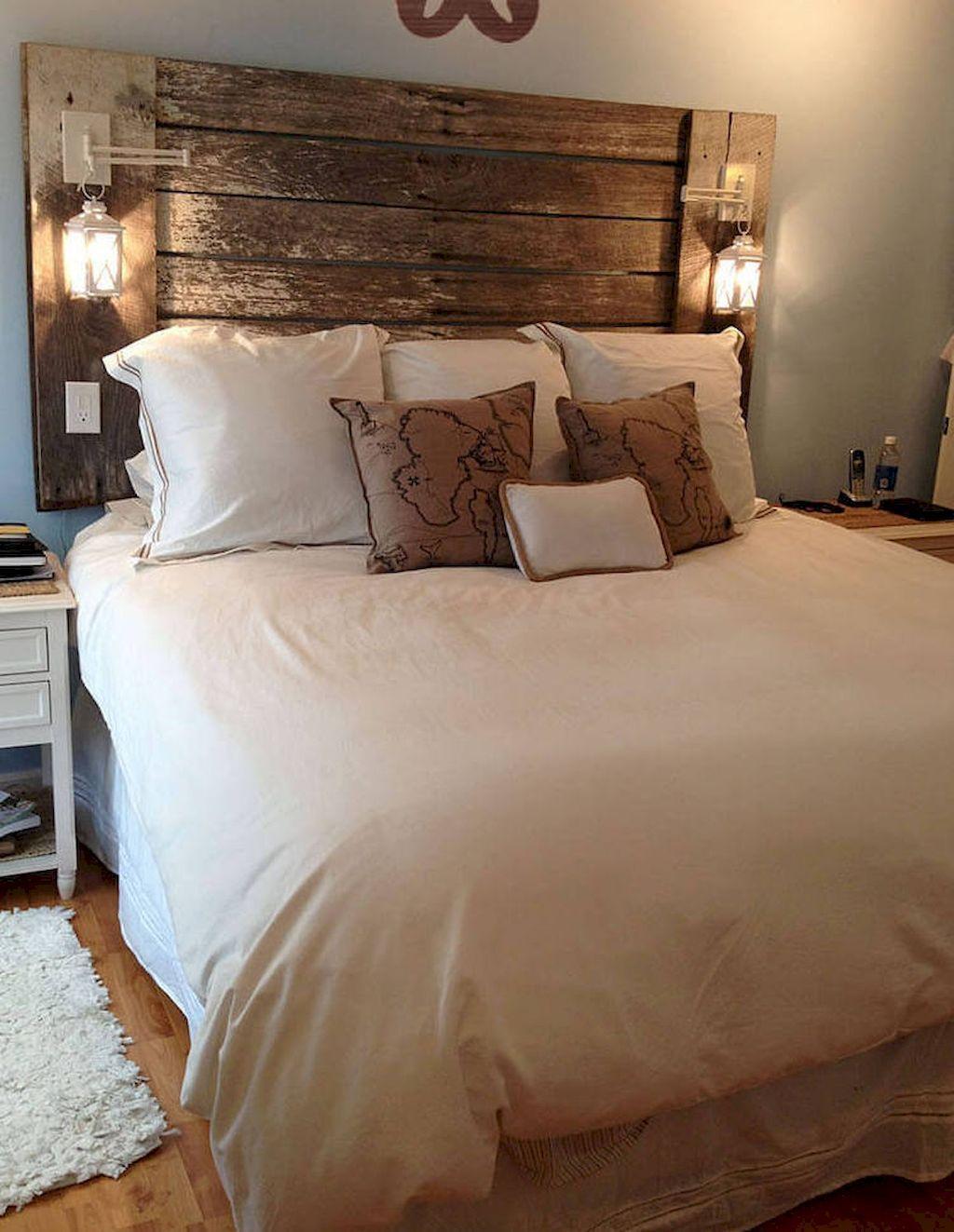 Master bedroom headboard ideas   Urban Farmhouse Master Bedroom Remodel Ideas  Bedroom Design and