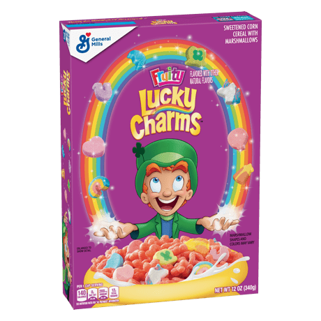 Lucky Charms Frosted Toasted Oat Cereal Marshmallows Lucky Charms Cereal Lucky Charm Cereal Brands