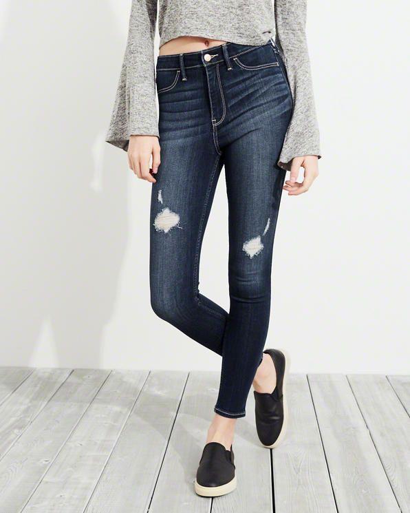 Zerrissene Leggings