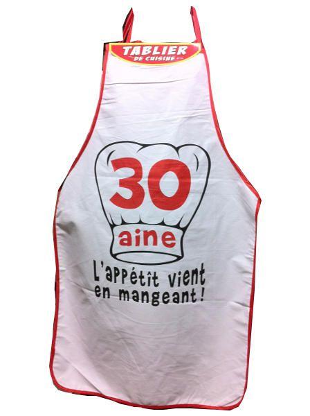 Tablier Humoristique 30 Aine Tablier Anniversaire Tablier L Aine Humoristique