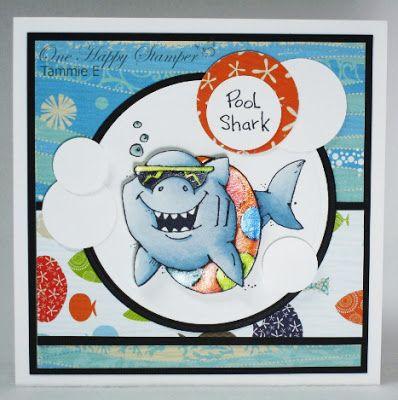 One Happy Stamper...: POOL SHARK