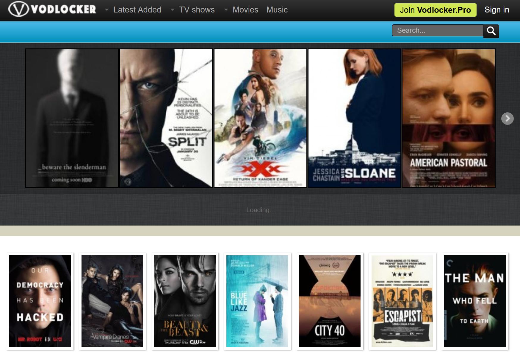 Vodlocker Pro - Ultimate website to watch movies online | Great ...