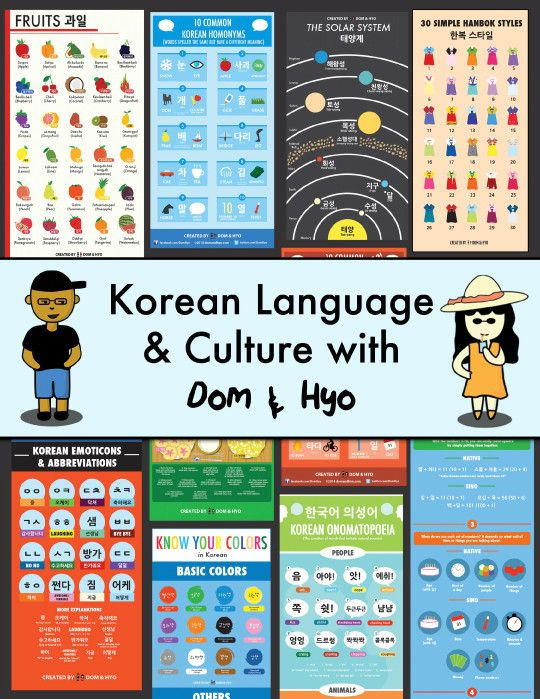 Learning Korean Language Ebook