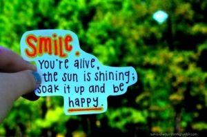 Smile ... ((Be happy. by Nikki W))
