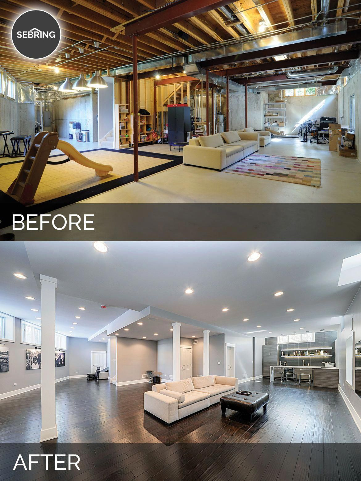 Provide your basement walls a rustic appearance without breaking the bank or burglarizing sweat ...