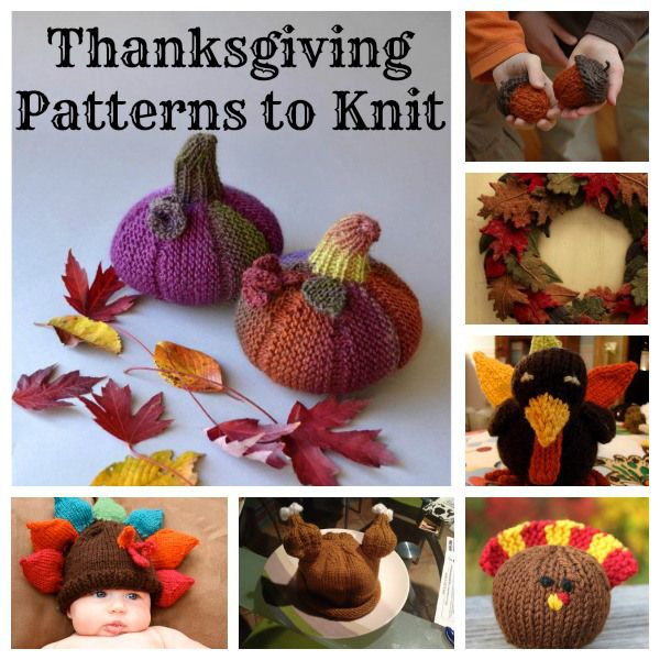 More Crafts to Knit for Thansgiving