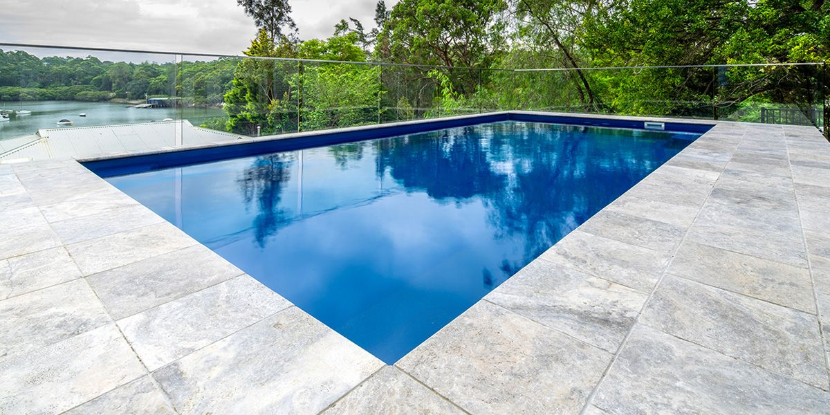 silver travertine pavers and tiles, enduring and timeless, are the