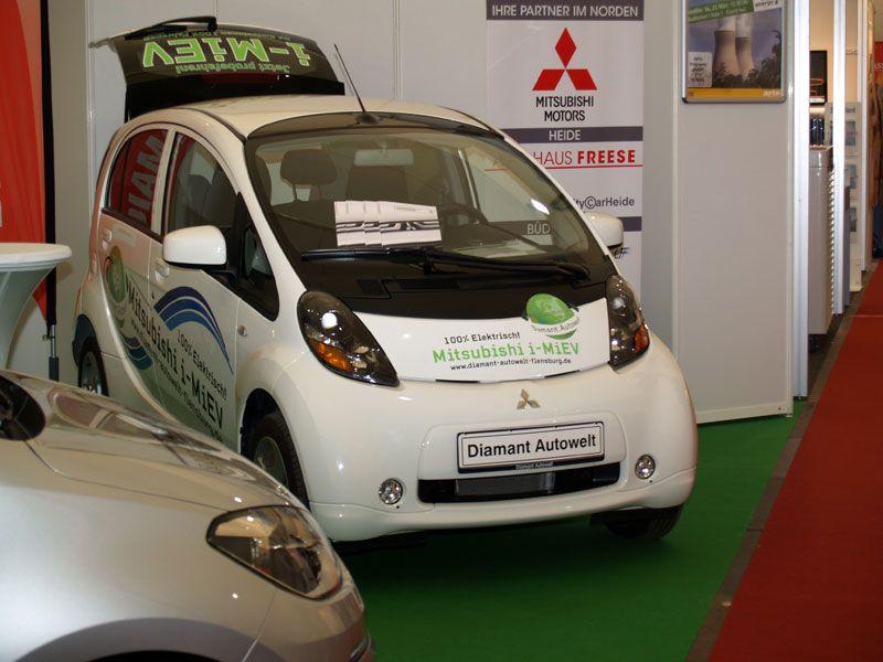 Mini-Eolica Mundial / Congress y Expo - Mini-Eolica / Husum 2014, Alemania NEW ENERGY. Los nuevos Vehiculos electricos de Mitsubishi Motors. Diamant AutoWelt