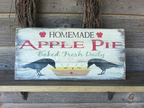 Primitive Rustic Home Decor Country Kitchen Sign Hand Painted Wood Simple Hand Painted Wood Signs Home Decor