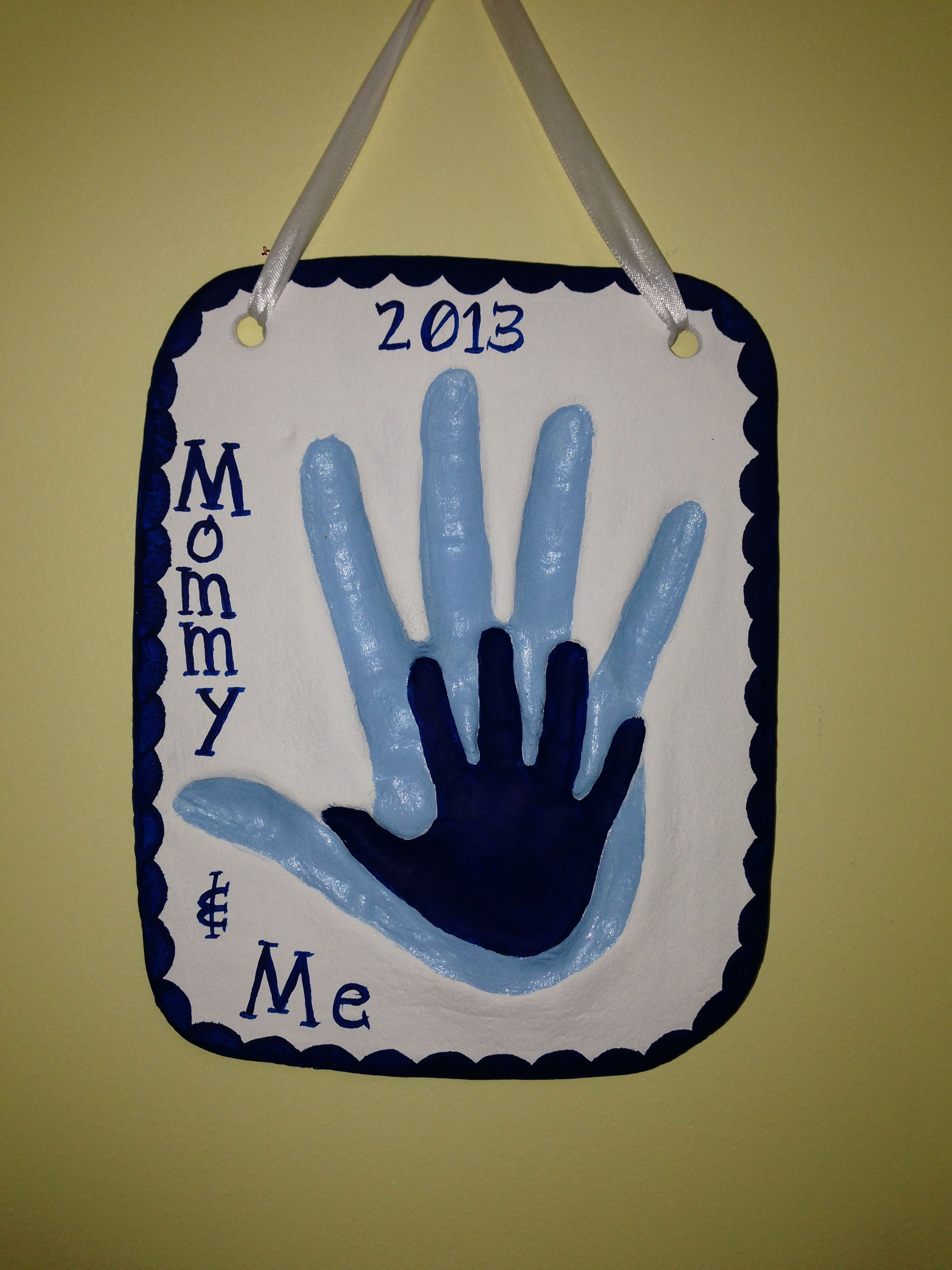 Pin By Gina Missildine On My Life Handprint Crafts Salt Dough Toddler Crafts