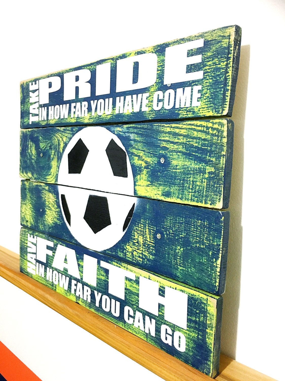Soccer Bedroom Football Poster Soccer Poster Footie Poster Sports Poster