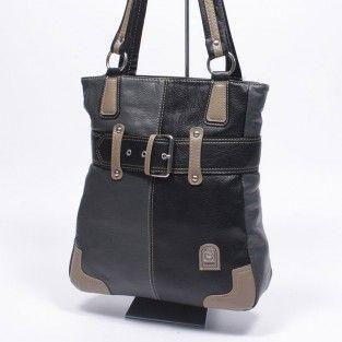 Laurence C fekete-szürke női táska  8ac5224637