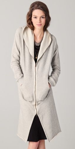 Enza Costa Maxi Hoodie - Ultimate cozy hoodie! e0bfffc9f