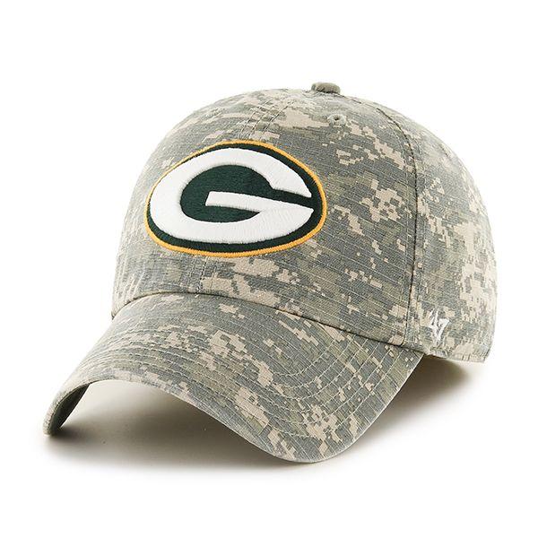 best loved e8e09 0b326 Green Bay Packers Officer Digital Camo 47 Brand Hat