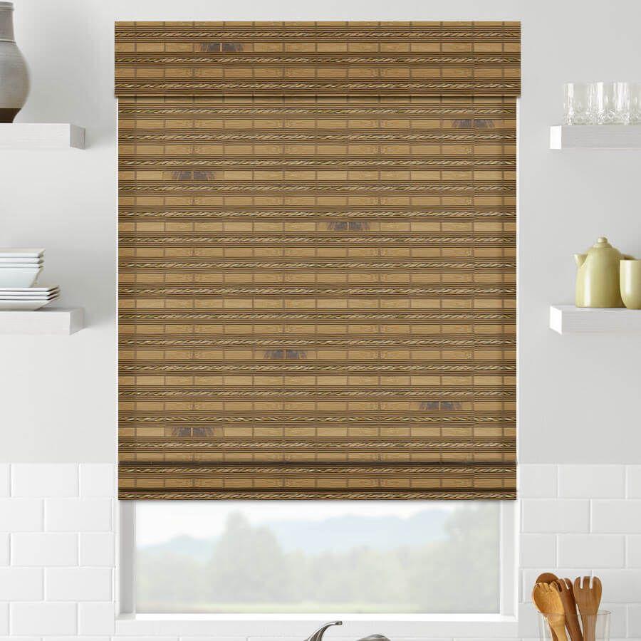Classic Shoreline Cordless Woven Wood Shades Selectblinds Com