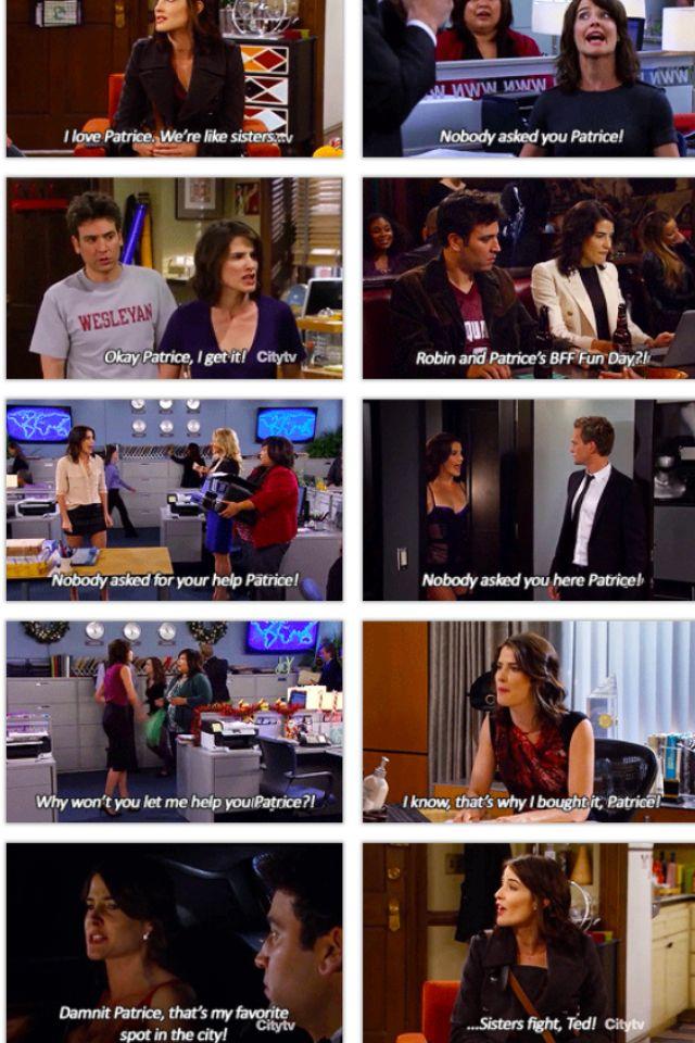Barney-Start dating patrice
