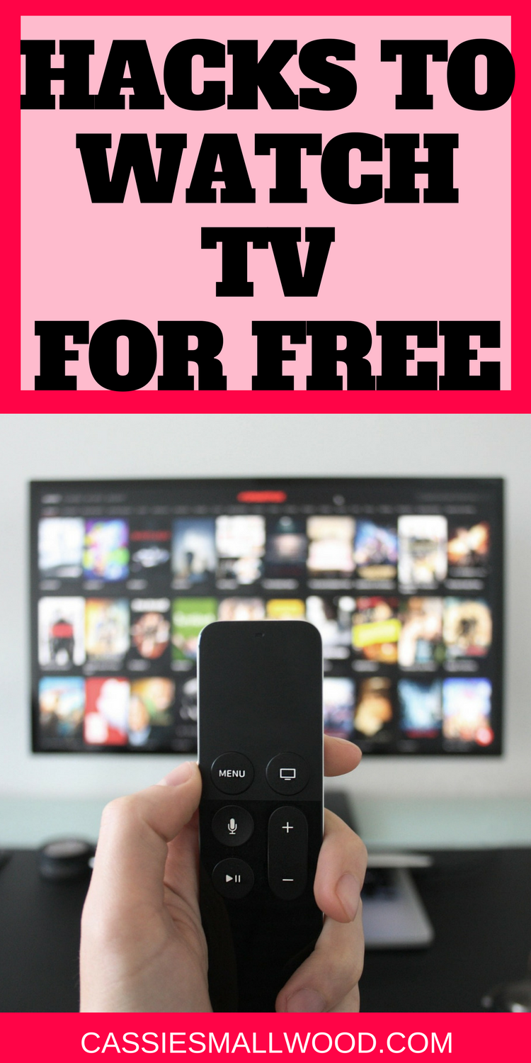 How To Watch Tv Without Cable Or Satellite And Save Money On Your Cable Bill Cassie Smallwood Tv Without Cable Watch Tv Without Cable Watch Tv For Free