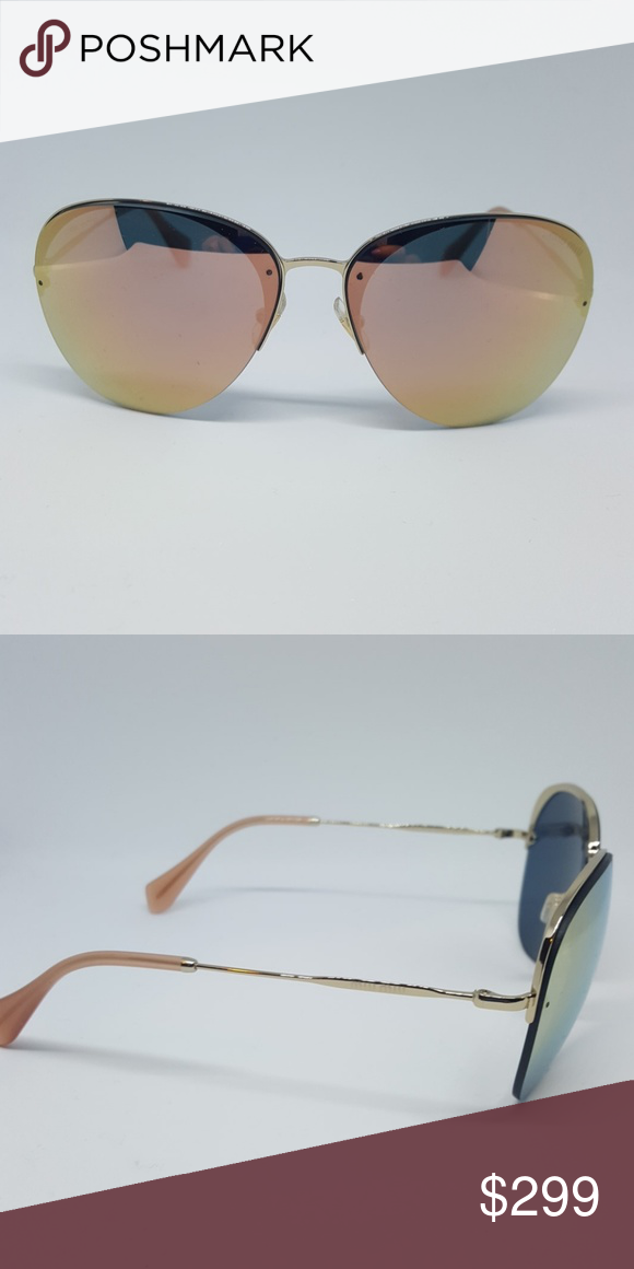 61e577dc444 MiuMiu sunshades Authentic MiuMiu shades SMU53p Miu Miu Accessories  Sunglasses