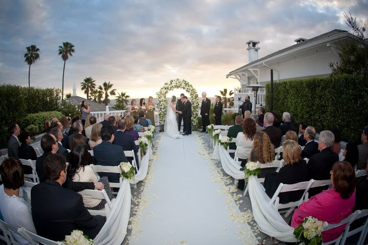 Pacific Terrace Wedding Ceremony At Shutters On The Beach