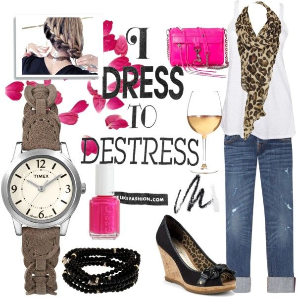 854678ffabba Pink and leopard... two of my faves. | Style | Fashion, Fashion ...