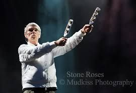 Image result for photographs from stone roses at etihad