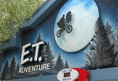 E t adventure at universal studios has a 34 inch height restriction children 34 to 48 inches for Busch gardens height restrictions