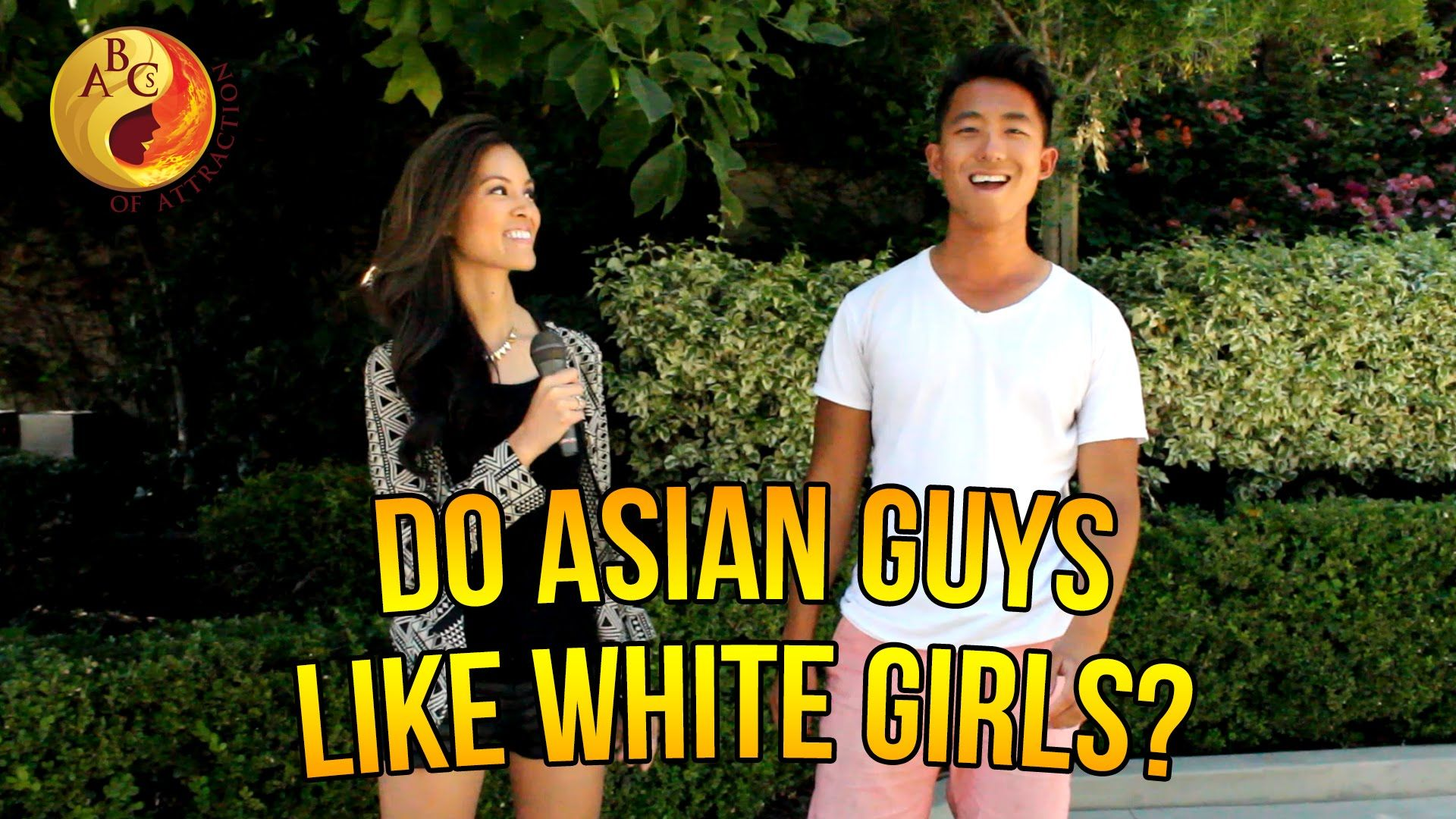 Asian male dating white women